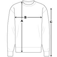Sweat-shirt Homme mesures