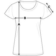 Tee shirt standard Femme mesures