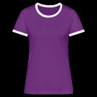 Tee shirt contraste Femme