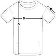 Tee shirt standard Ado mesures