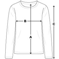 Tee shirt manches longues Premium Ado mesures