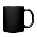 black metal inner circle 1, black calligraphy Full Colour Mug
