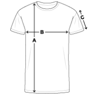 Tee shirt près du corps Homme mesures