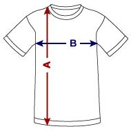 Tee shirt respirant Enfant mesures