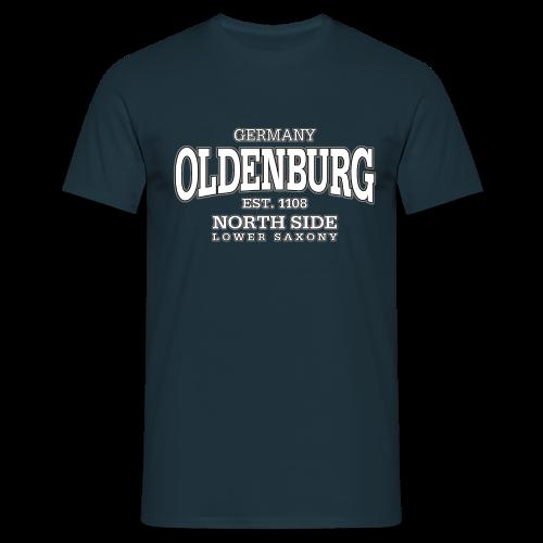 Männer T-Shirt klassisch - T-Shirts Oldenburg (white)