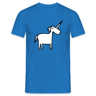 T-Shirts ~ Men's Standard T-Shirt ~ Fat Unicorn