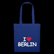 Taschen & Rucksäcke ~ Stofftasche ~ I love Berlin-Tragetasche