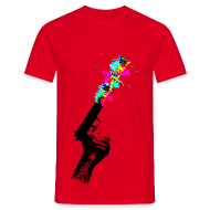 T-Shirts ~ Men's Standard T-Shirt ~ Glitch Gun