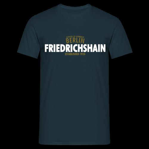 Männer T-Shirt von American Apparel - T-Shirts Capitol Of Germany Berlin - Friedrichshain