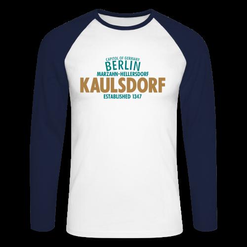Männer langärmeliges Baseballshirt - Langarmshirts Capitol Of Germany Berlin - Kaulsdorf