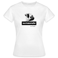 Frauen T-Shirt klassisch - T-Shirts Mops Naturschön mit Profil T-Shirts