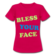 T-Shirts ~ Women's Standard T-Shirt ~ bless your/peace off