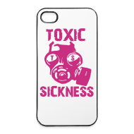 Other ~ iPhone 4/4S Hard Case ~ Women`s Toxic iPhone 4/4S Cover