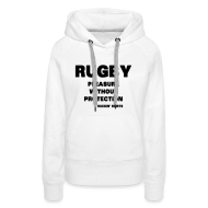Hoodies & Sweatshirts ~ Women's Hoodie ~ Pleasure Without Protection