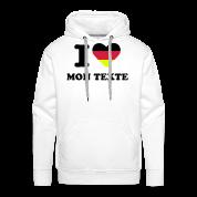 T-Shirt Personnalisé I Love Drapeau Allemagne