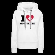 T-Shirt Personnalisé I Love Drapeau Suisse