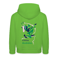 Kids' Hoodie - Pink Warrior, Little Robbie