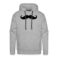 Hoodies & Sweatshirts ~ Men's Hoodie ~ Mustachito