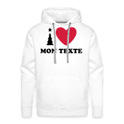T-Shirt Personnalisé I Love Noël 7