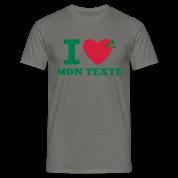 T-Shirt Personnalisé I Love Noël 5