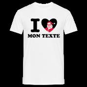 T-Shirt Personnalisé I Love Noël 9