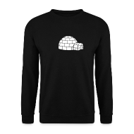 Hoodies & Sweatshirts ~ Men's Sweatshirt ~ Igloo Sweatshirt