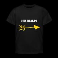 Kinder Lustige T-shirt - Rialto Brücke, Venedig