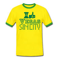T-Shirts ~ Men's Ringer Shirt ~ I like Vegas sin city