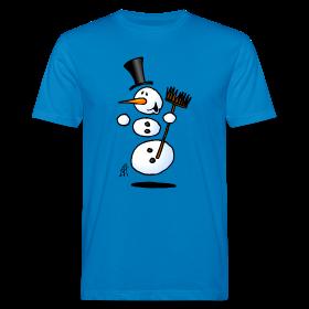Dansende sneeuwpop op T-Shirts
