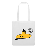 Bags & backpacks ~ Tote Bag ~ Singing Yellow Submarine Bag