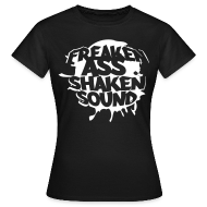 T-Shirts ~ Frauen Standard T-Shirt ~ Freaken Ass Shaken Girls Classic Shirt - black