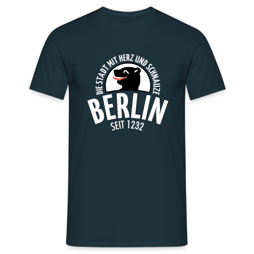 Männer T-Shirt von American Apparel - T-Shirts Berlin - Die Stadt mit Herz und Schnauze