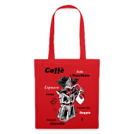 Bag - Italian Coffee Art Design