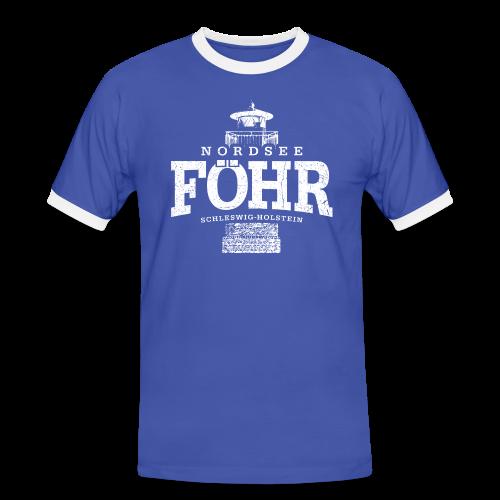 Männer T-Shirt von Sonar - T-Shirts Föhr Nordsee (weiss oldstyle)