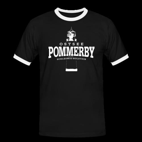 Männer T-Shirt von Sonar - T-Shirts Pommerby Ostsee (weiss)