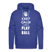 Men's Hoodie with design Keep Calm and Play Basketball
