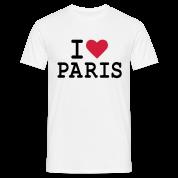 T-Shirt I Love Paris Homme