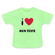 T-Shirt I Love Bébé
