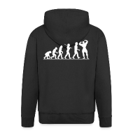 Hoodies & Sweatshirts ~ Men's Hooded Jacket ~ Evolution |