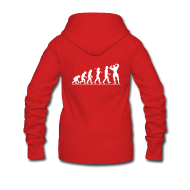 Hoodies & Sweatshirts ~ Women's Hooded Jacket ~ Evolution |