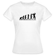 T-Shirts ~ Women's Standard T-Shirt ~ Evolution |