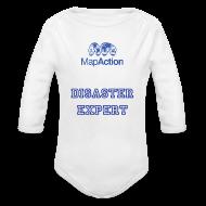 Hoodies ~ Baby Long Sleeve One Piece ~ Future MapActioner - Long sleeve