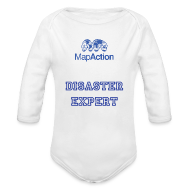 Hoodies ~ Baby Long Sleeve One Piece ~ Future MapActioner - Long sleeve