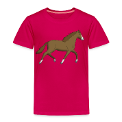 Horse brown Tee shirts