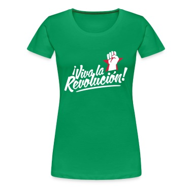Vert tendre revolution fist T-shirts