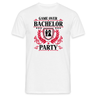 GAME OVER – BACHELOR PARTY T-Shirt