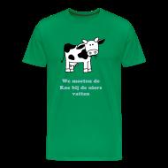 We moeten de koe bij de uiers vatten