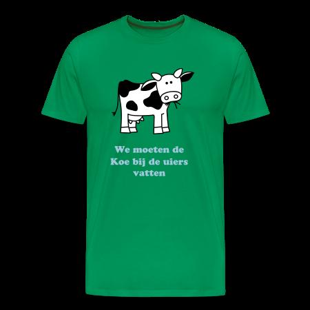 We moeten de koe bij de uiers vatten kelly groen