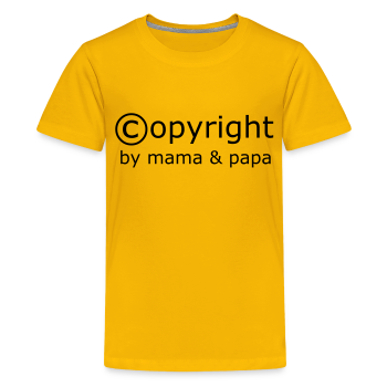 Copyright Mama Papa T-Shirt (md)