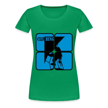 Climbing Mountaineering  extreme sports motif  T-Shirts